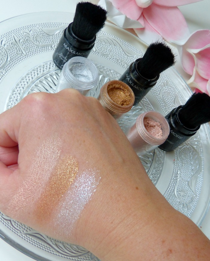 swatches Bodyshimmer Max & More party Stick