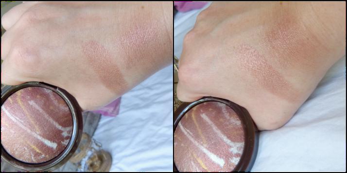 swatches Primark Sunkissed Bronze Blush