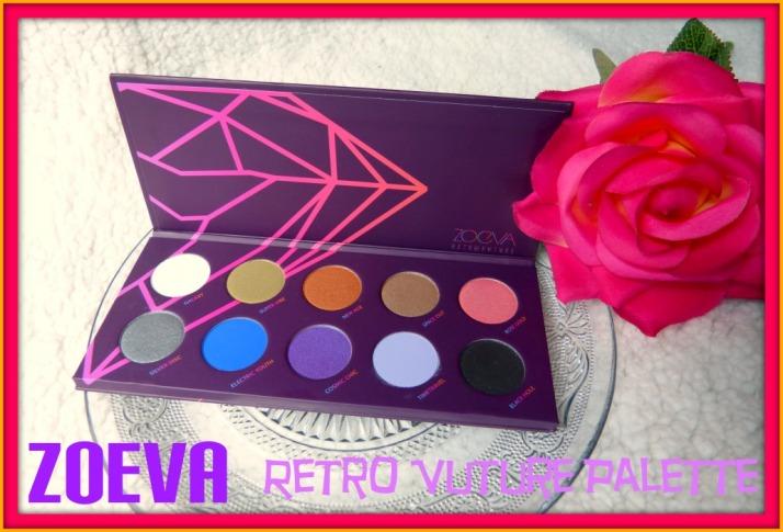 Zoeva Retro Future palette