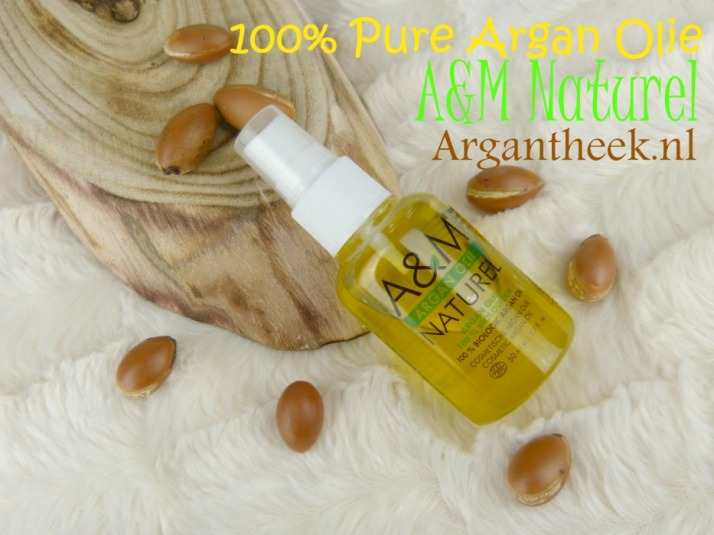 A&M Naturel Pure Argan olie