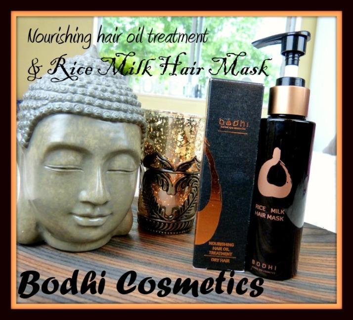 Bodhi Cosmetics Nourishing hair oil treatment & Rice Milk Mask