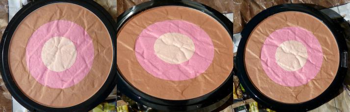 Bronzing highlighting powder Hema pink skintone