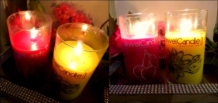 candles at night