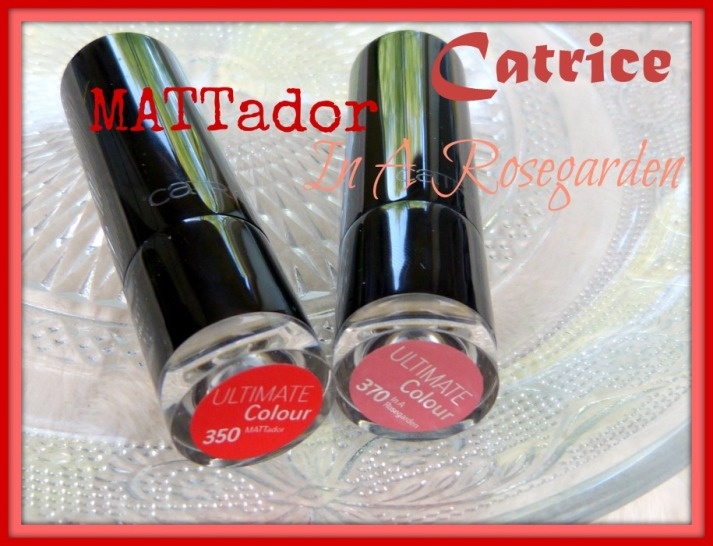 Catrice Lippenstiften MATTador en In a rosegarden