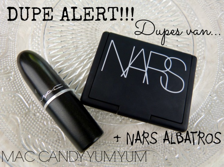 Dupe Alert Nars Albatros en MAC Candy Yum Yum