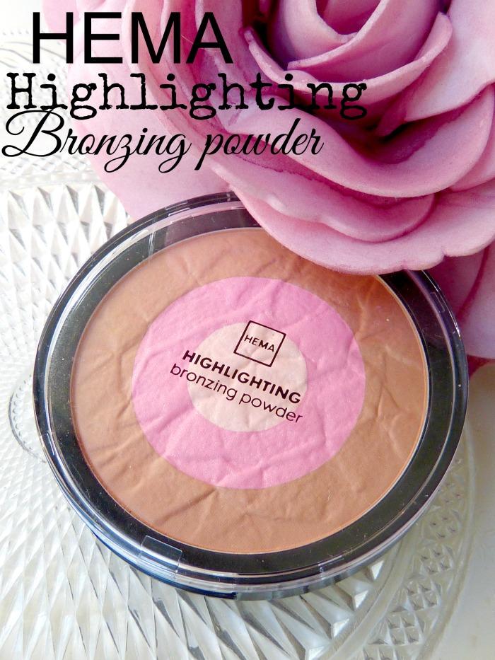 Hema highlighting bronzing powder