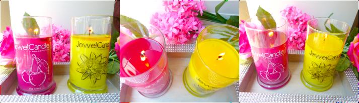 jewel candle pink cherrie en passion fruit