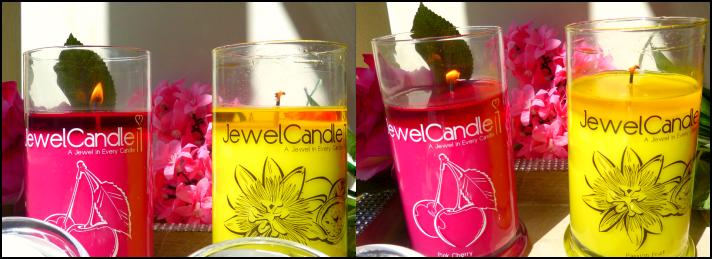 kaarsen van soja was jewel candle