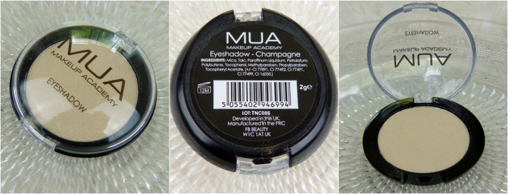 MUA Mono Eyeshadow Champagne