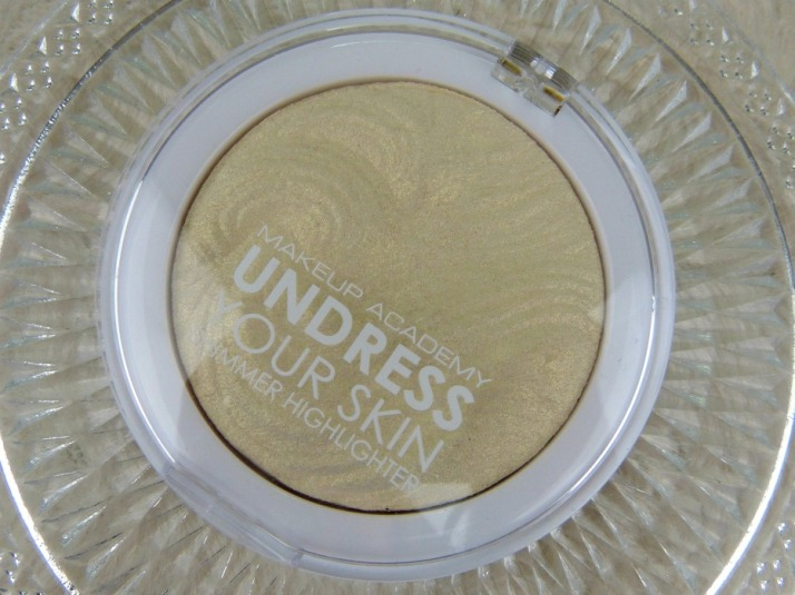 MUA Undress your skin shimmer highlighter iredescent gold