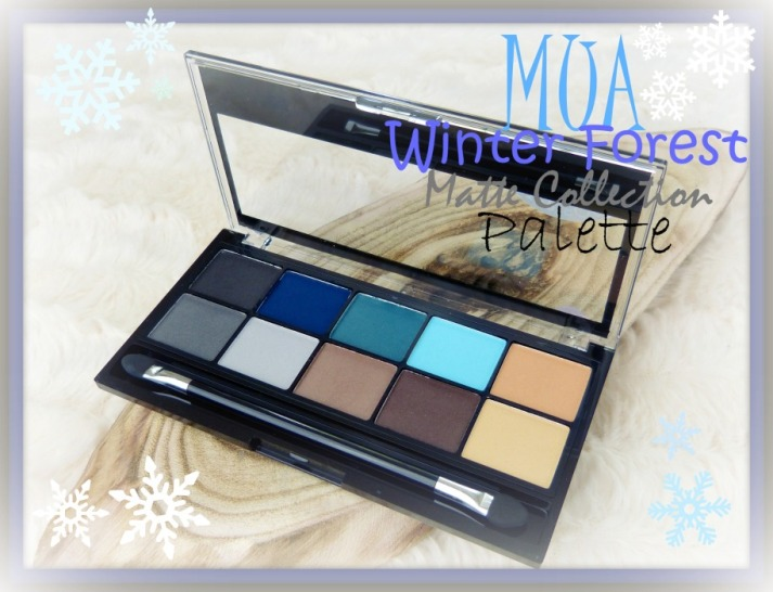 MUA Winter Forest Matte Palette