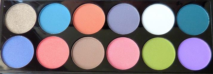 oogschaduw kleuren sleek palette Del mar ibiza inspired