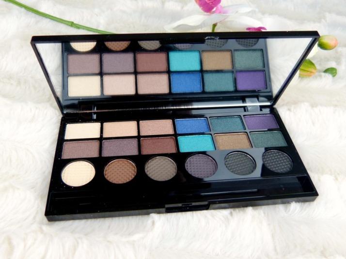 oogschaduw palette makeup revolution