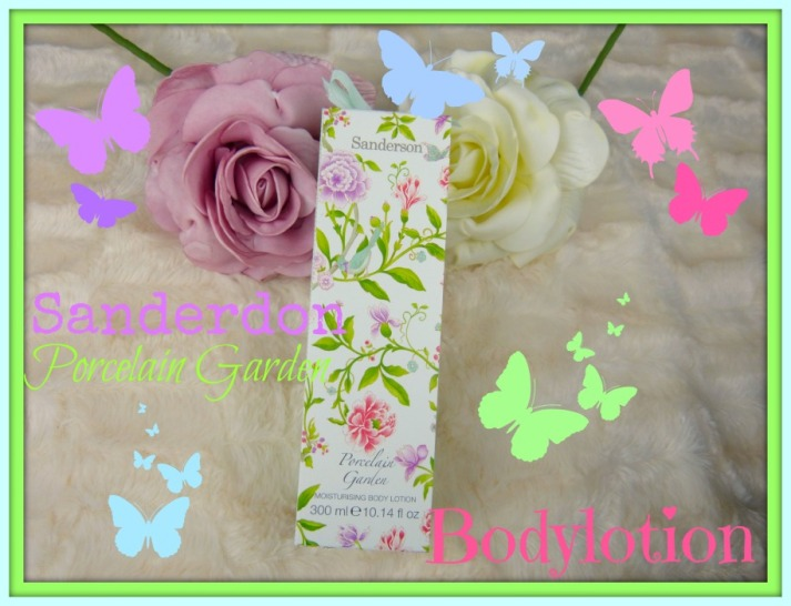 Porcelain garden bodylotion