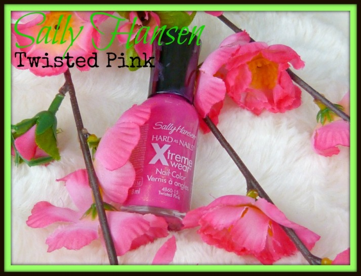 Sally hansen twisted pink