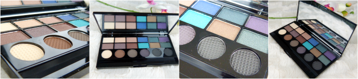 salvation palette makeup revolution oogschaduw palette