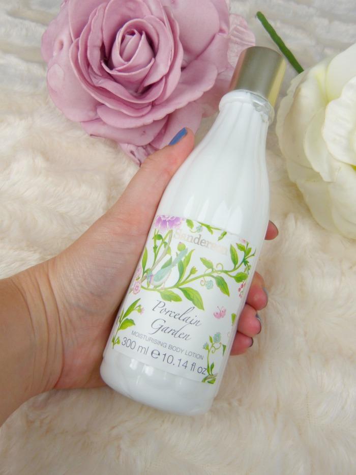 Sanderson porcelain garden moisturising bodylotion