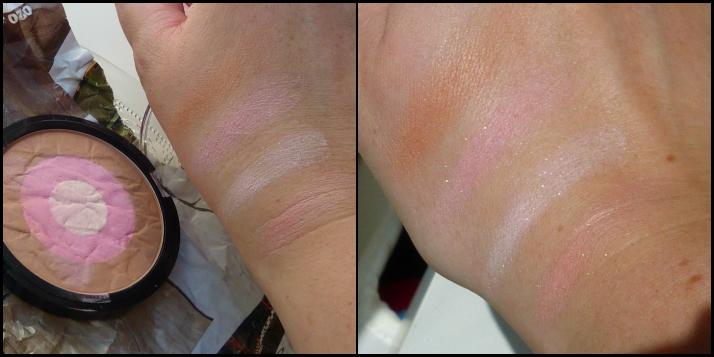 swatches bronzing highlighting powder HEMA