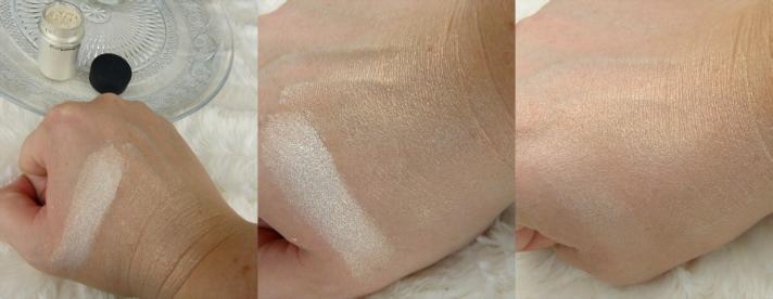 swatches MAC Vanilla Pigment