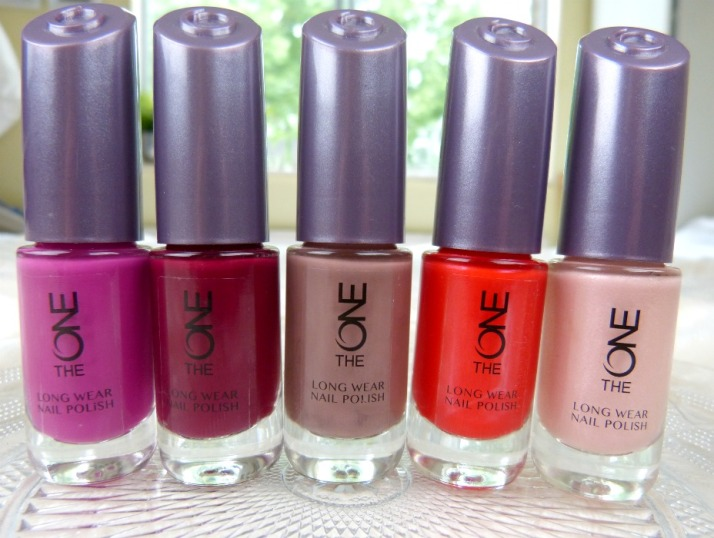 The One long wear nail polish oriflame