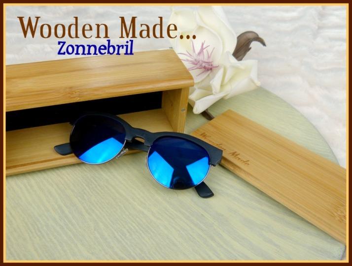 Zonnebril van Wooden Made