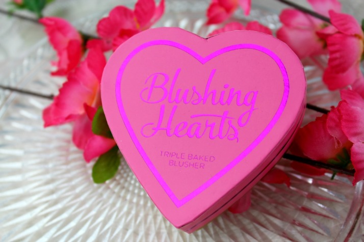 Blushing heart blush makeup revolution