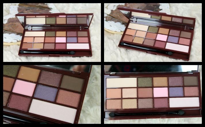 Cocolade palette Makeup revolution