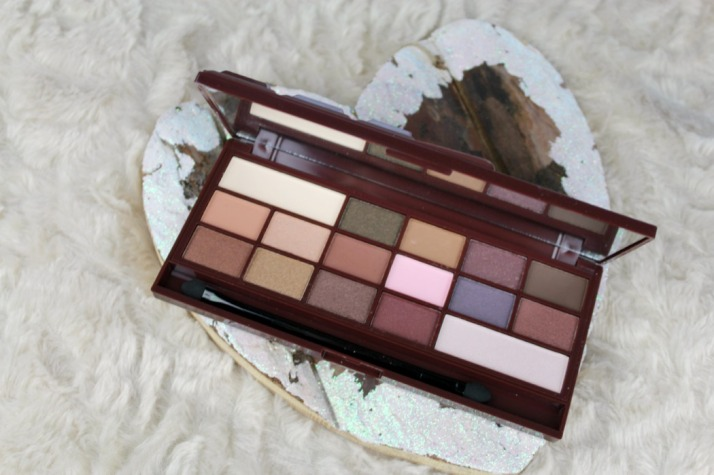 I Love Chocolate palette makeup revolution...