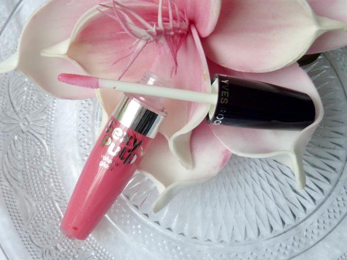 lipgloss van yves rocher sexy pulp rose vif