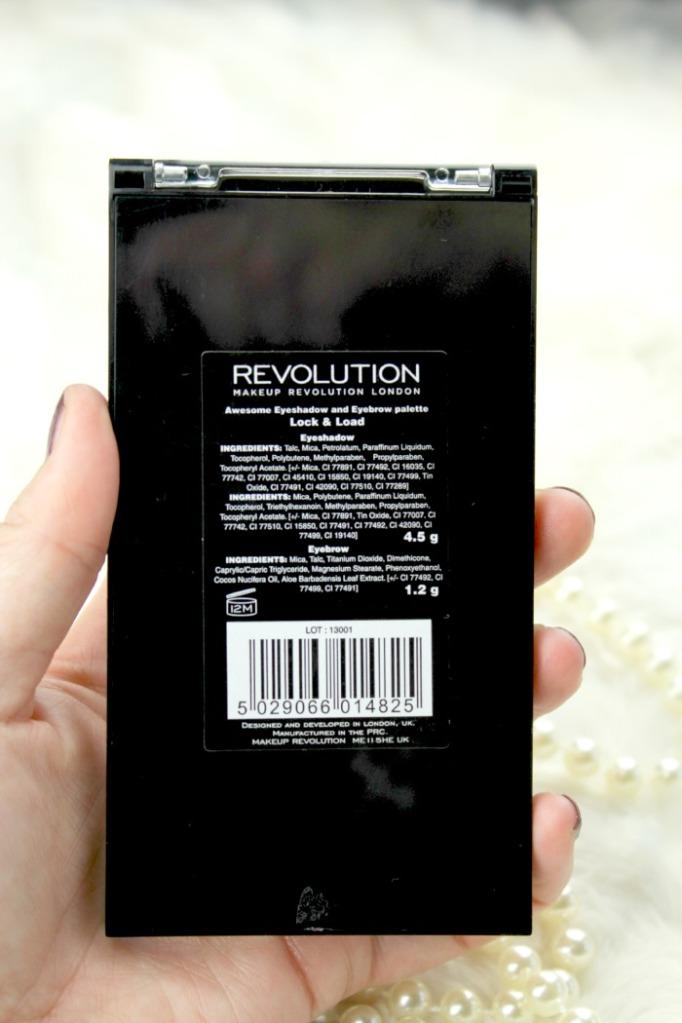 Lock & Load Palette Makeup revolution
