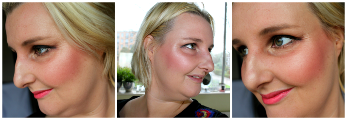 Look met Marylou manizer the balm