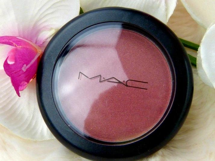 mac plum foolery sheertone shimmer blush
