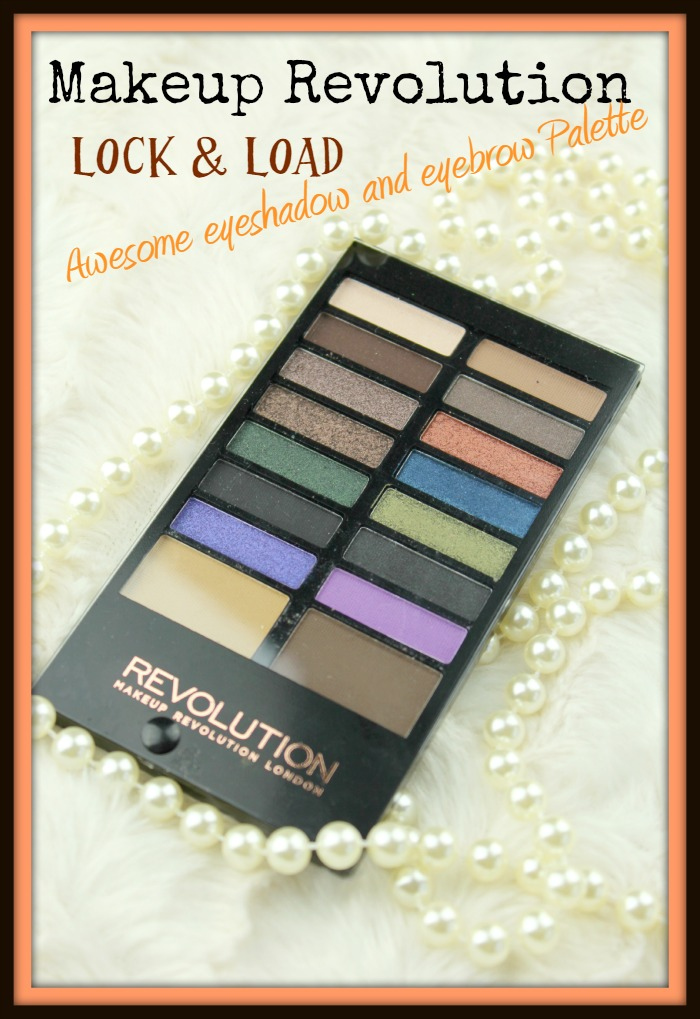 Makeup revolution awesome eyeshadow and eyebrow palette Lock & Load