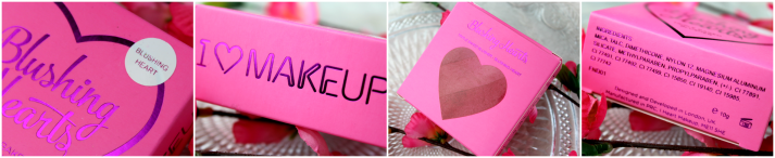 Makeup revolution Blushing heart blush