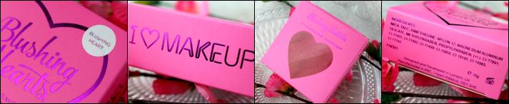 Makeup revolution Blushing heart blush