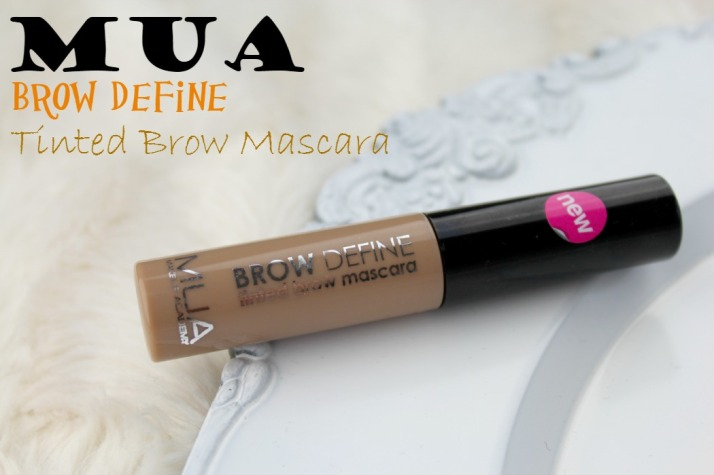 MUA Brow Define tinted brow mascara