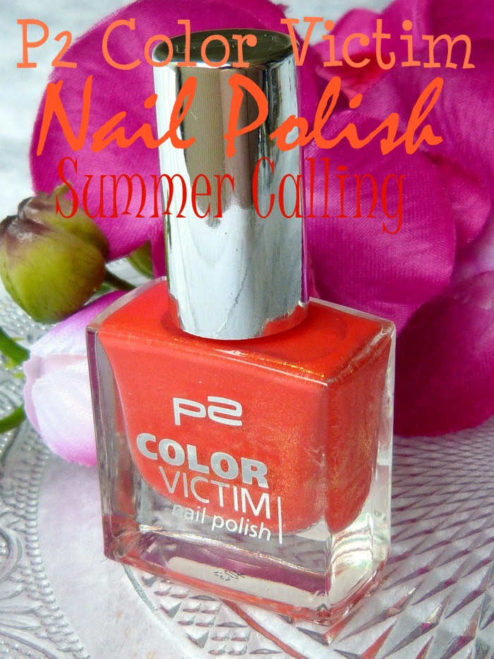 P2 Color Victim Nail Polish Summer Calling