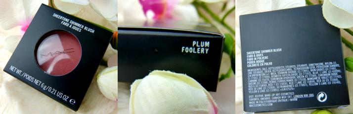 plum foolery MAC