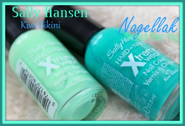 Sally Hanssen Nagellak Kiwi Bikini en Perfect Pear-ing