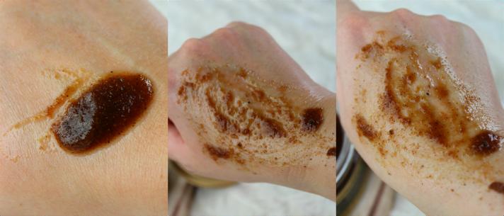 Swatches Coffee Almond Sugarcane Scrub