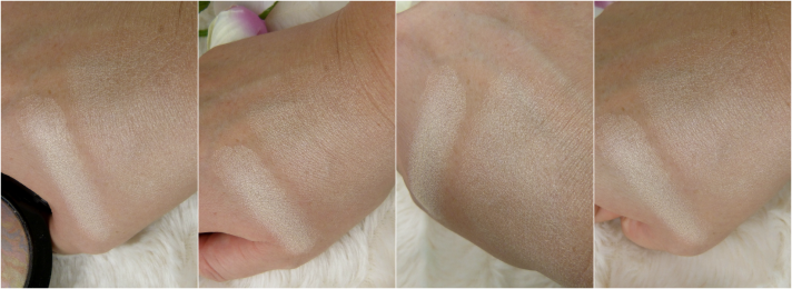 swatches mineralize skinfinish MAC lightscapade