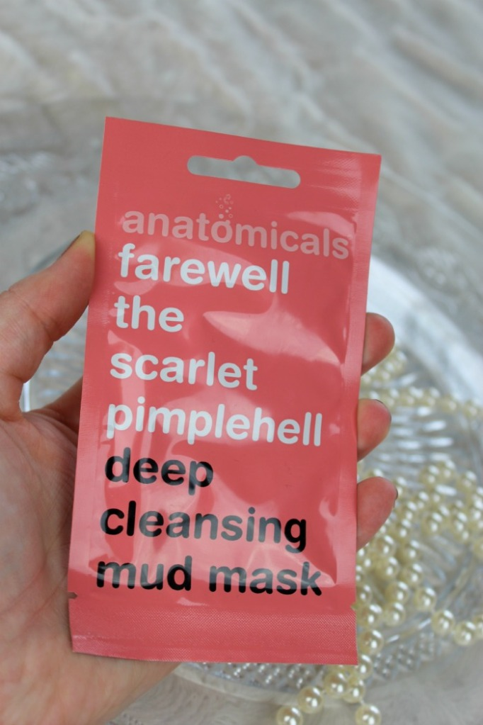 Anatomicals Farewell the pimplehell deep cleansing mask