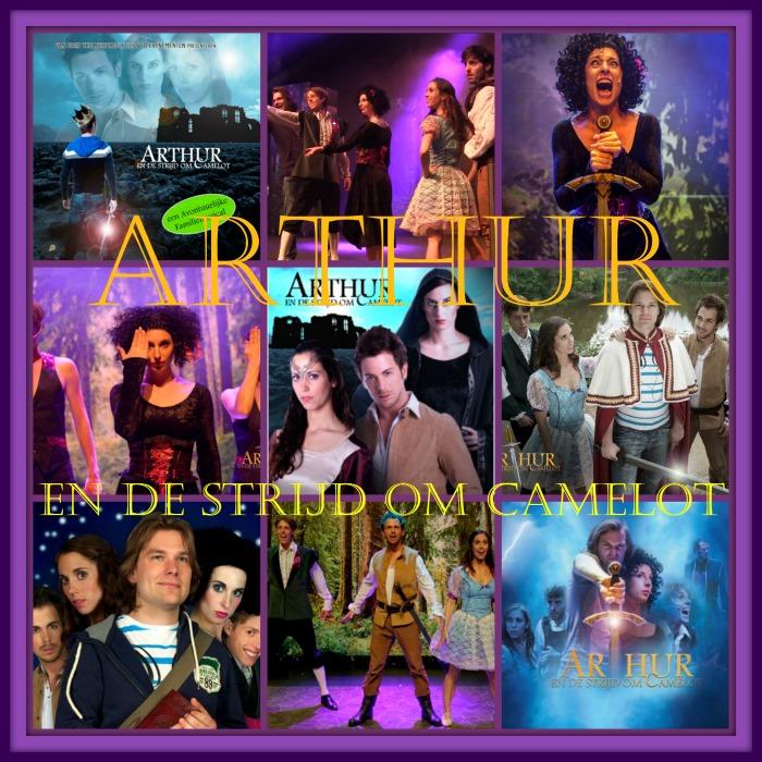 Arthur en de strijd om Camelot Musical