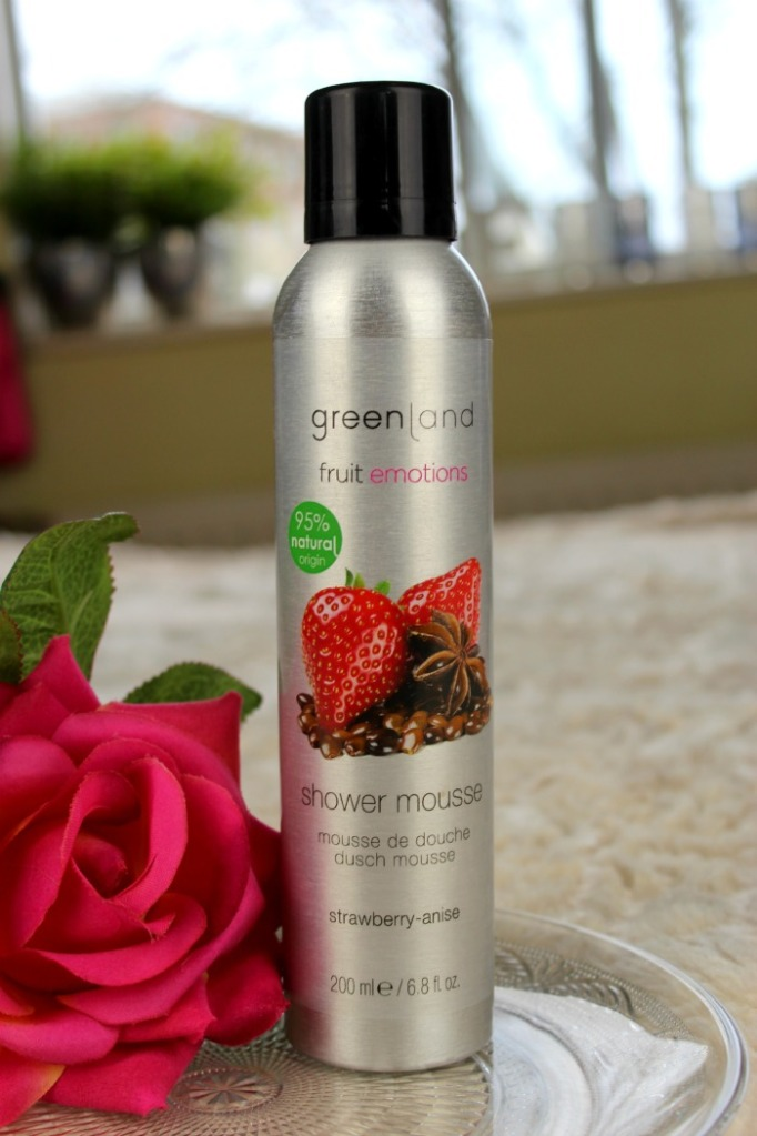 Greenland Fruit emotions Shower mousse strawberry anise