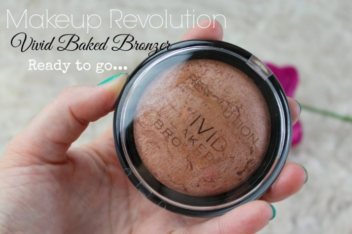 Makeup Revolution Vivid Baked Bronzer Ready To Go
