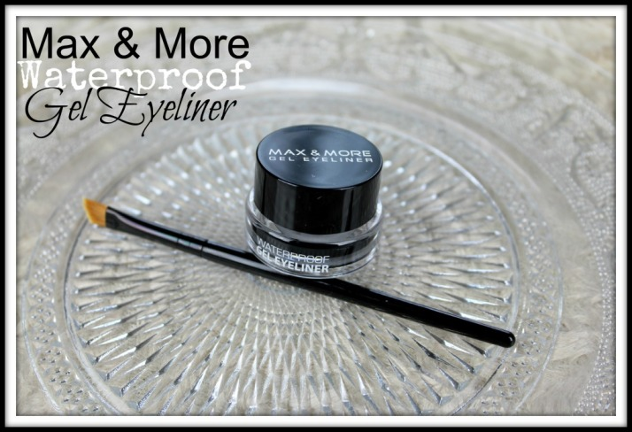 Max & More Waterproof gel eyeliner Action