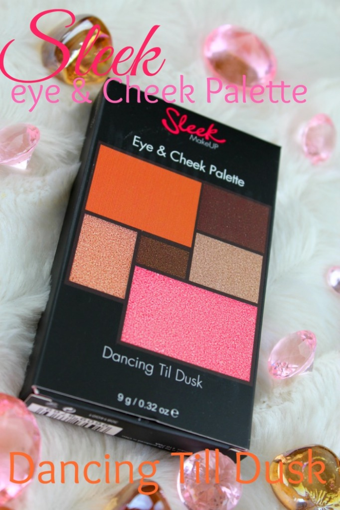 Sleek eye en cheek palette dancing till dusk