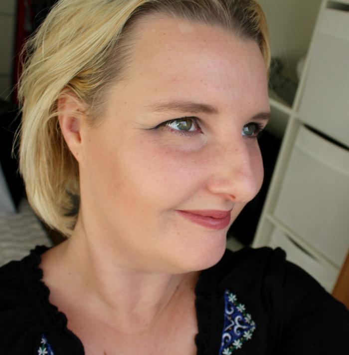 Dr. Hauschka Bronzer op mijn gezicht