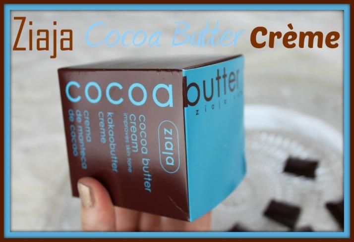 Ziaja Cocoa Butter Crème