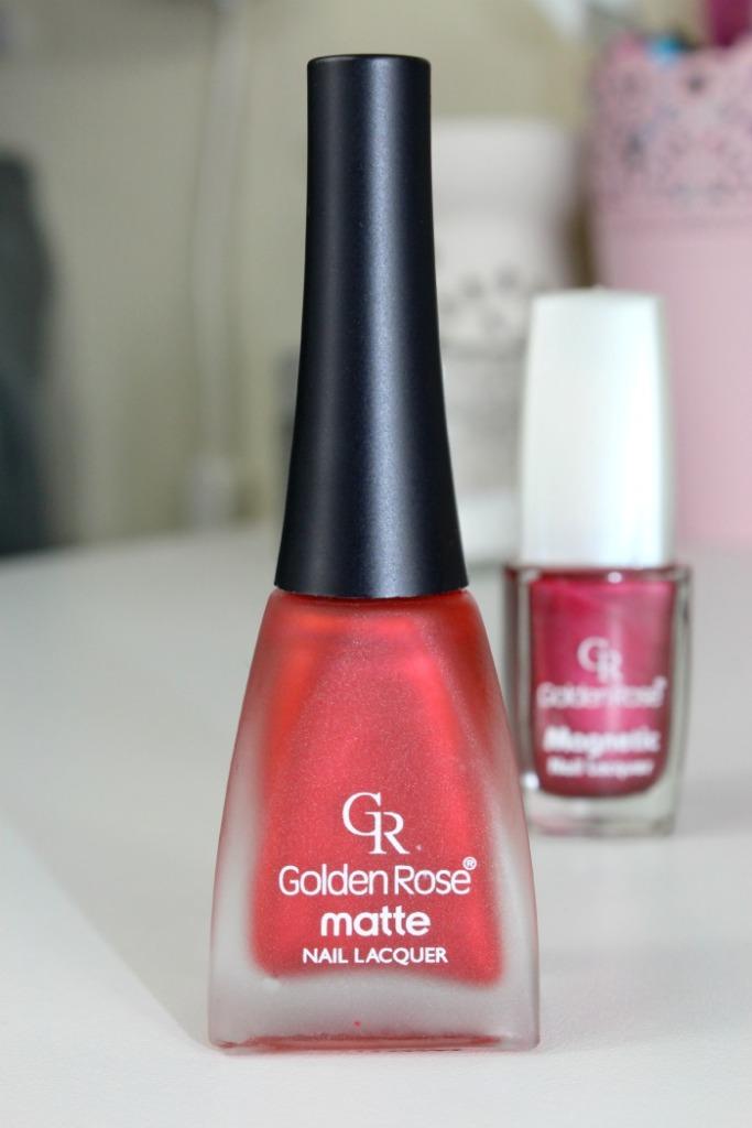 Golden Rose Matte Nail Lacquer